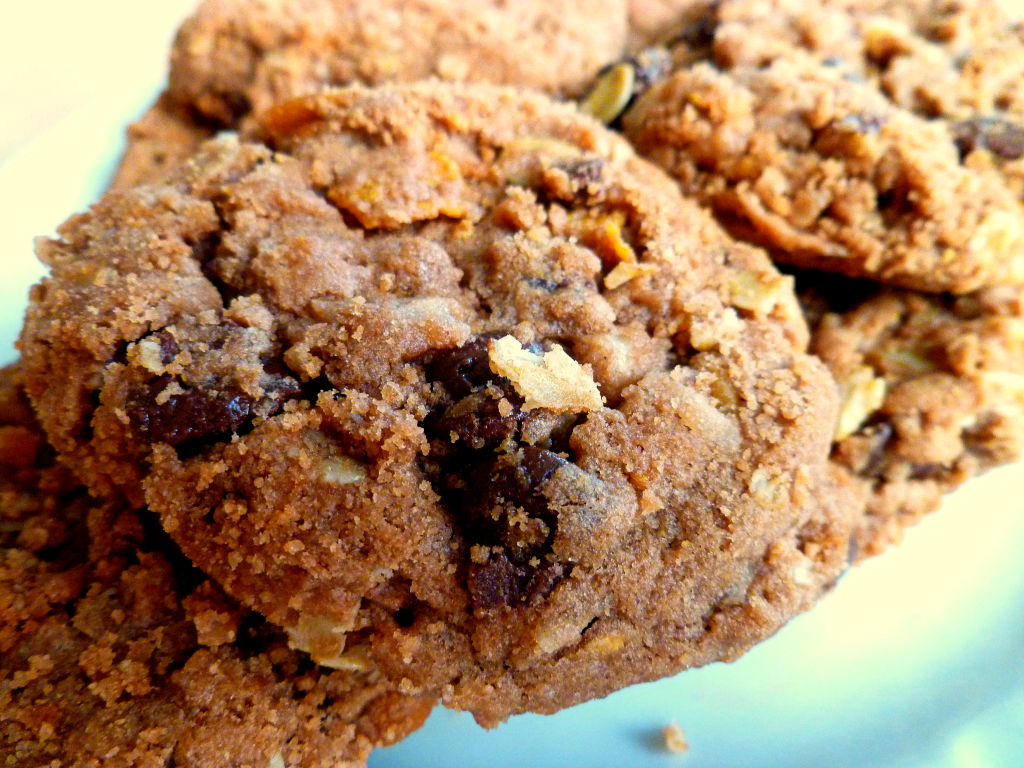 chocolate cowgirl cookies