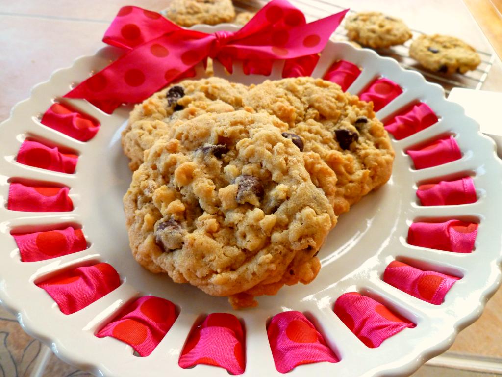 rice krispie chocolate chip cookies