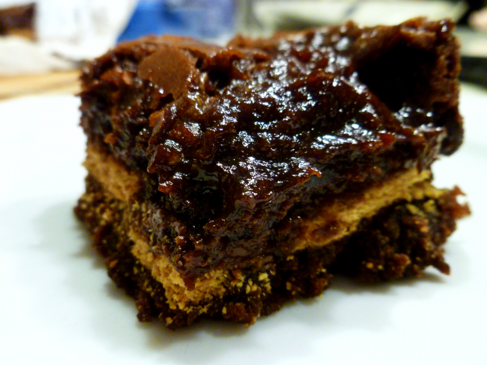 melted brownie