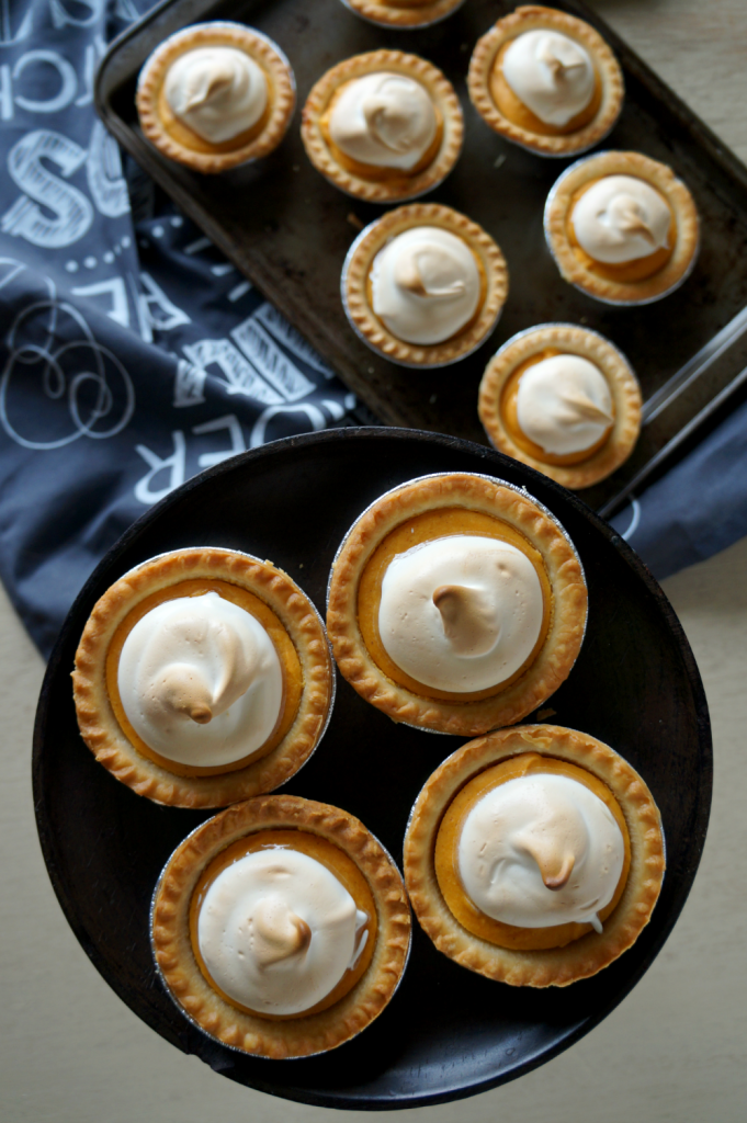 mini sweet potato pies   The Baking Fairy
