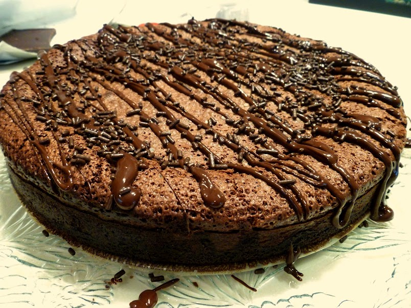 brownie mousse torte