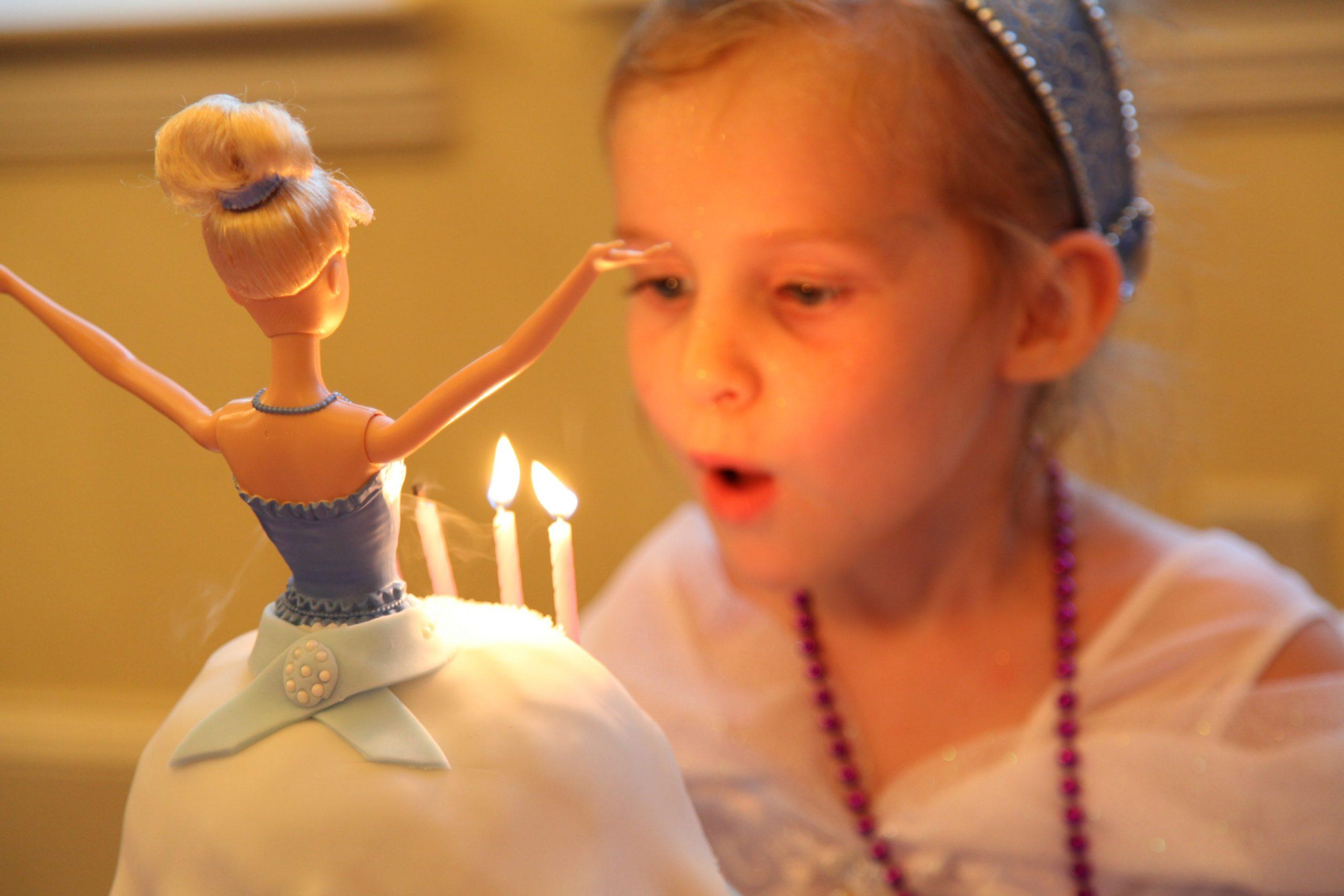 Cinderella Princess Party The Baking Fairy