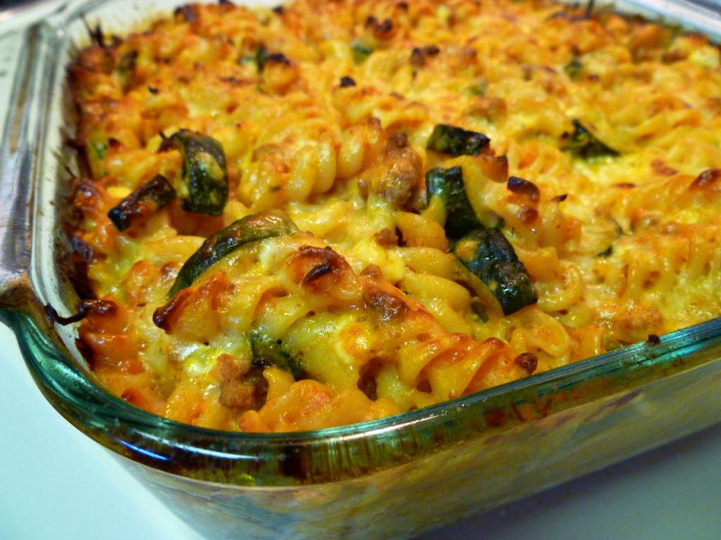 zucchini lasagna pasta bake