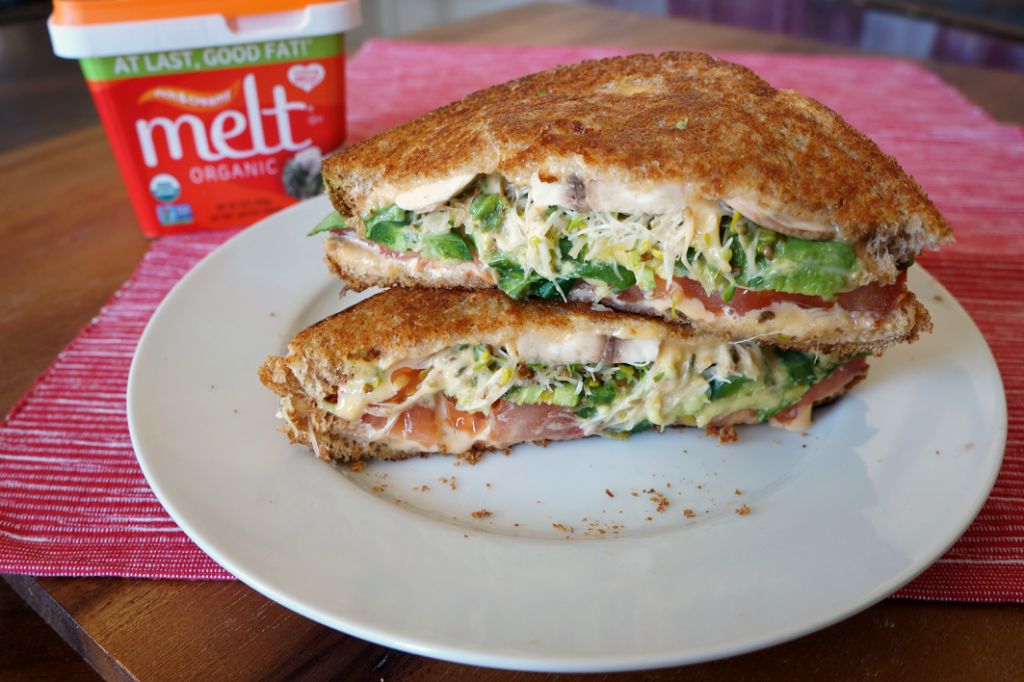 ultimate veggie grilled cheese {feat. MELT buttery spread}