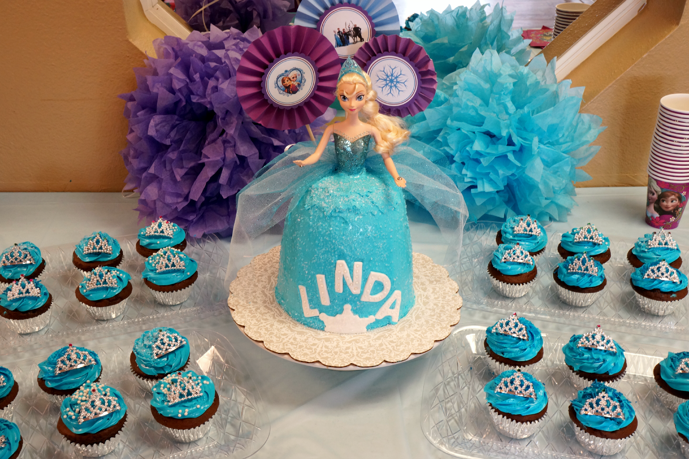 Super Queen Elsa Frozen Birthday Cake The Baking Fairy Funny Birthday Cards Online Overcheapnameinfo