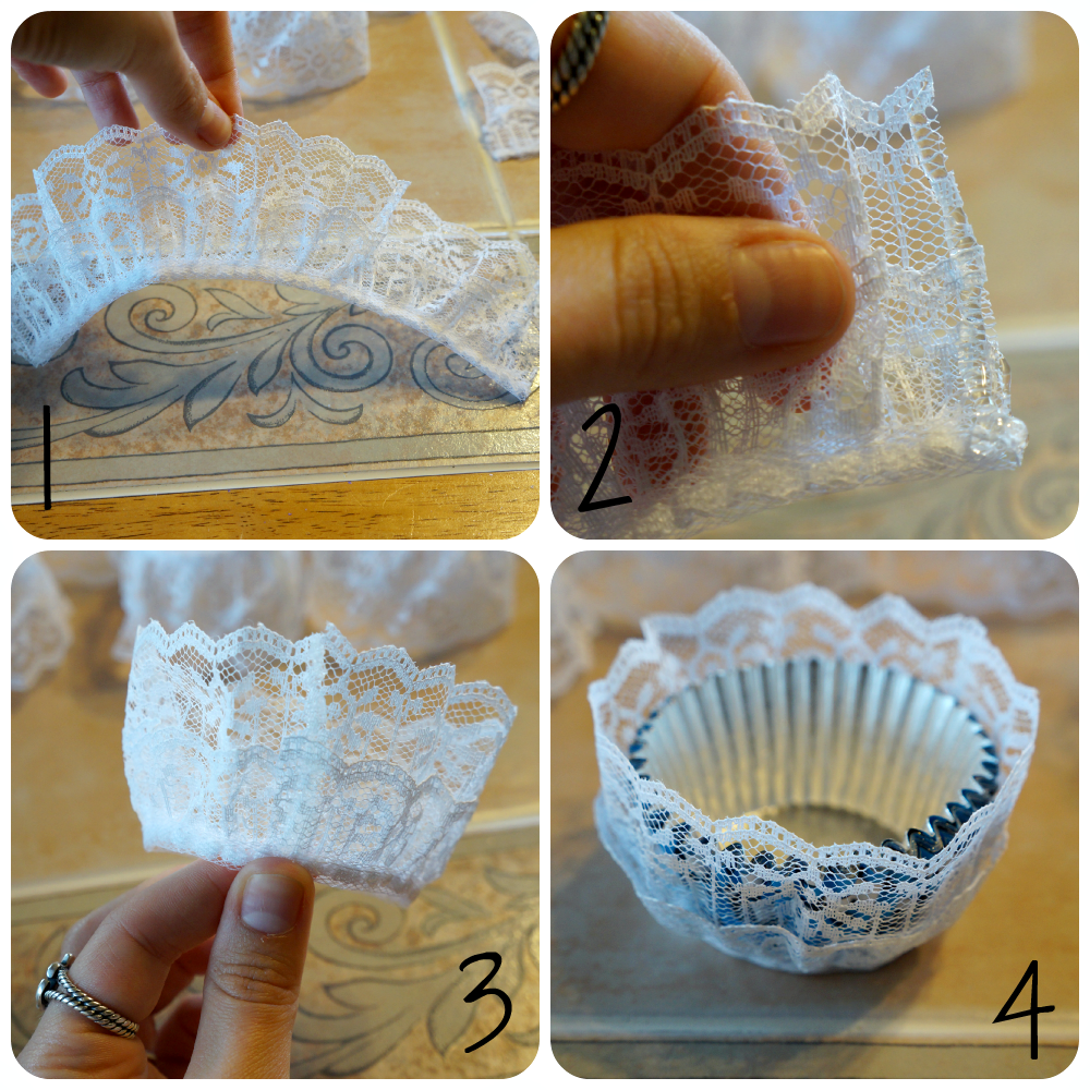 lace cupcake liners | The Baking Fairy