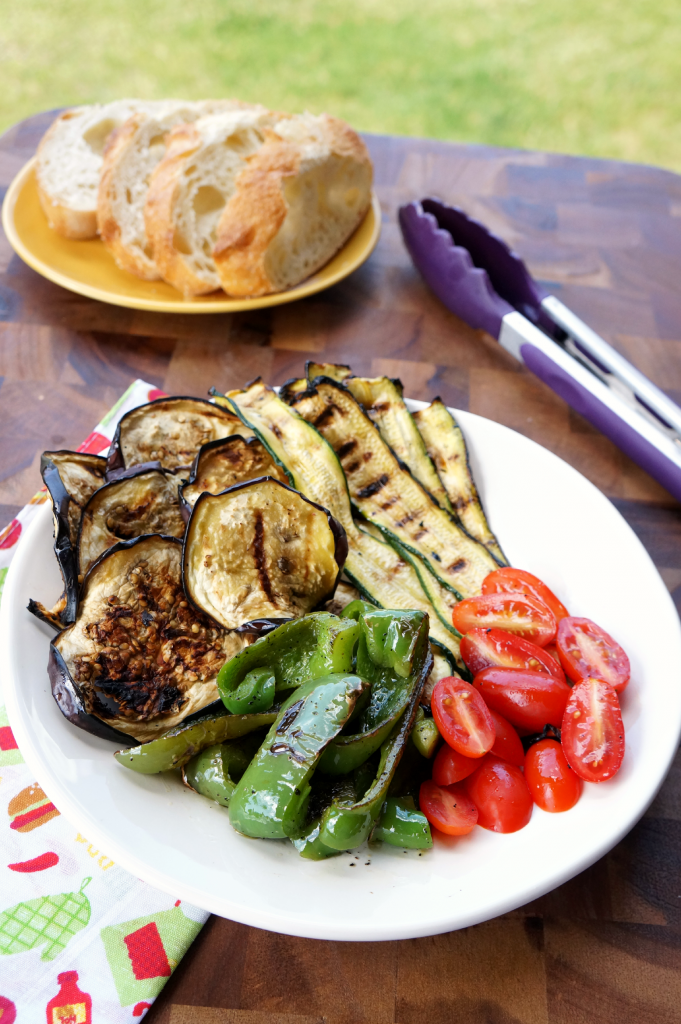 grilled vegetable panini | The Baking Fairy