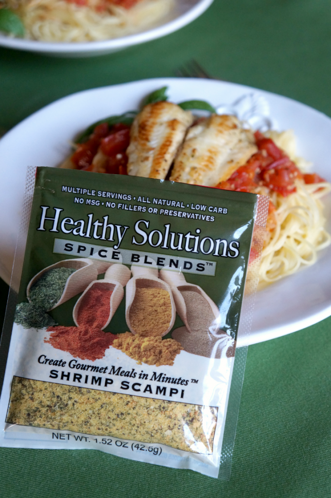 tilapia scampi spaghetti | The Baking Fairy