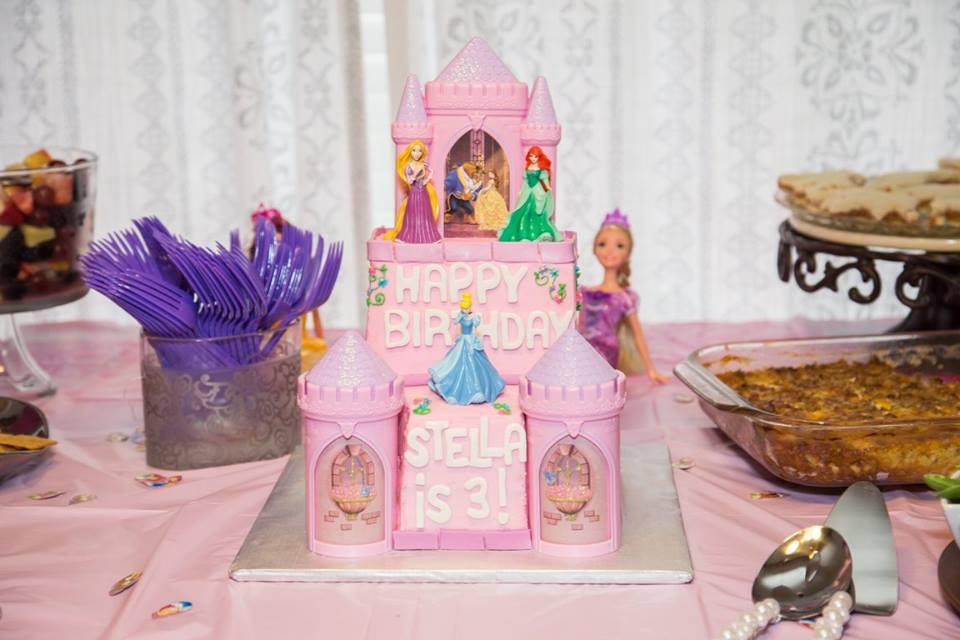 princess castle cake | The Baking Fairy