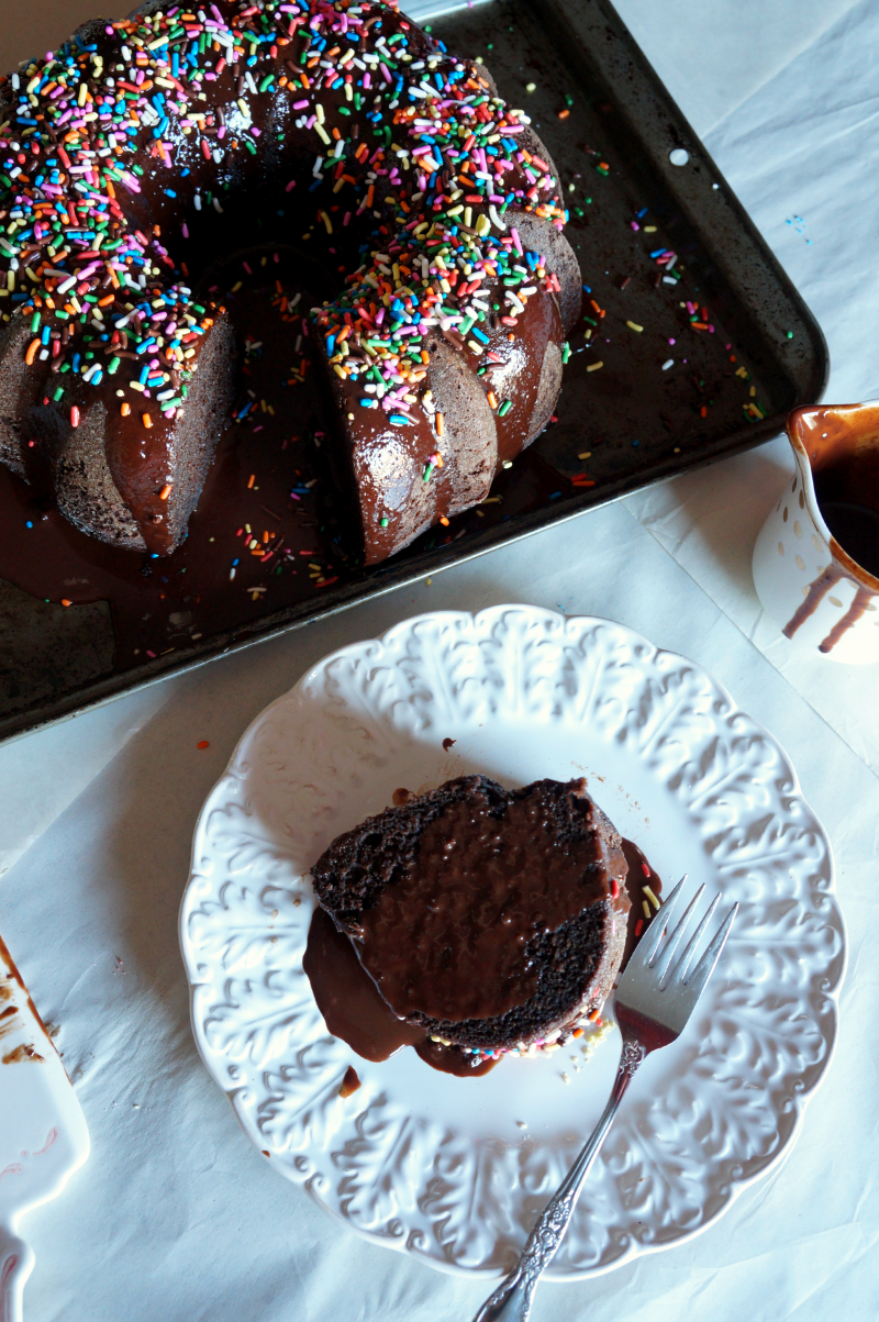 Vegan Chocolate Bundt Cake The Baking Fairy