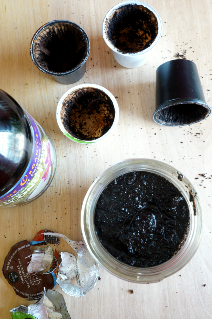 coconut oil coffee scrub | The Baking Fairy