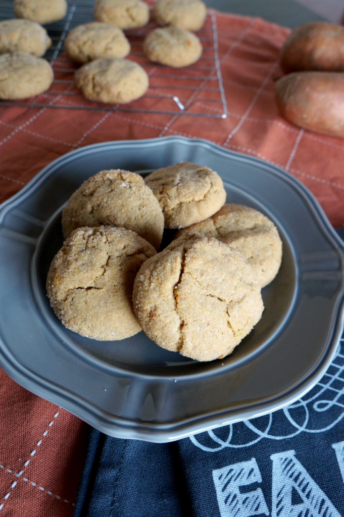 sweet potato snickerdoodle cookies | The Baking Fairy