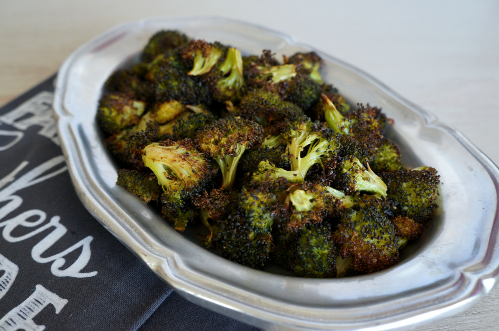 simple roasted broccoli