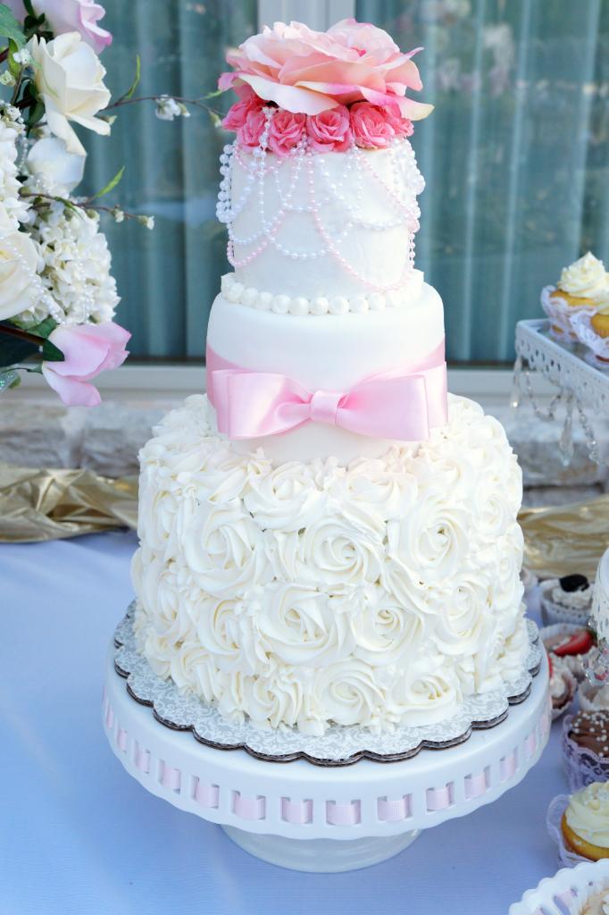 Coffey Wedding Cake | The Baking Fairy