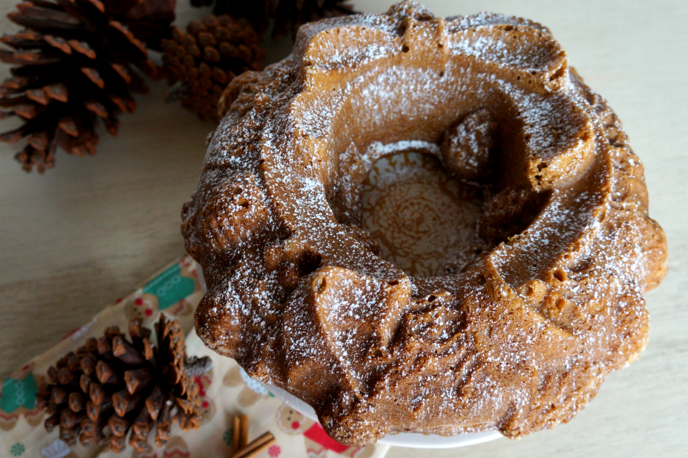 molasses spiced bundt cake