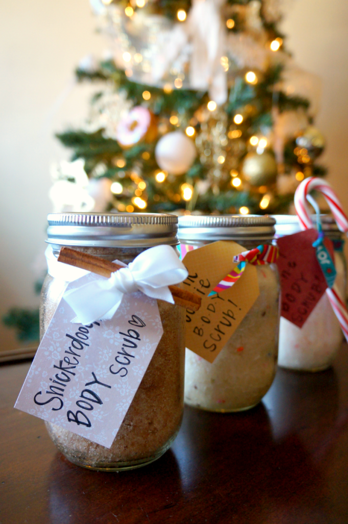 homemade sugar scrubs | The Baking Fairy