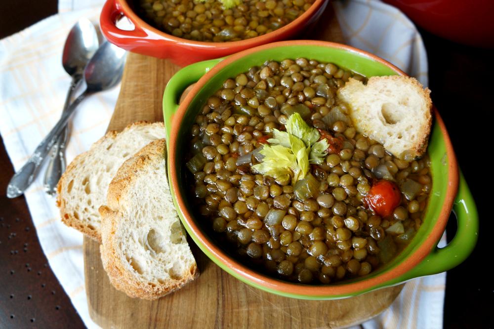 italian lentil soup | The Baking Fairy