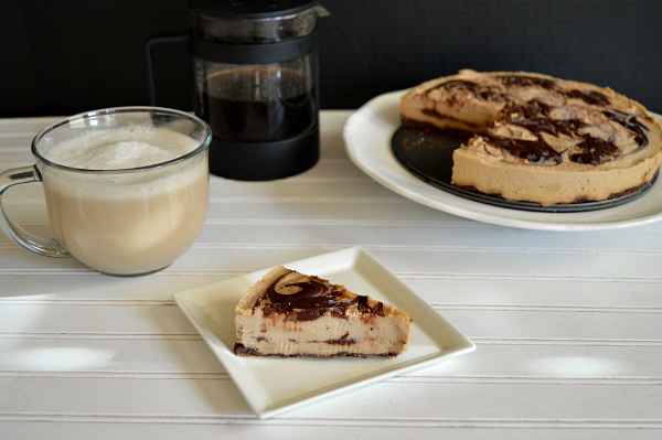 vegan mocha cheesecake | The Baking Fairy