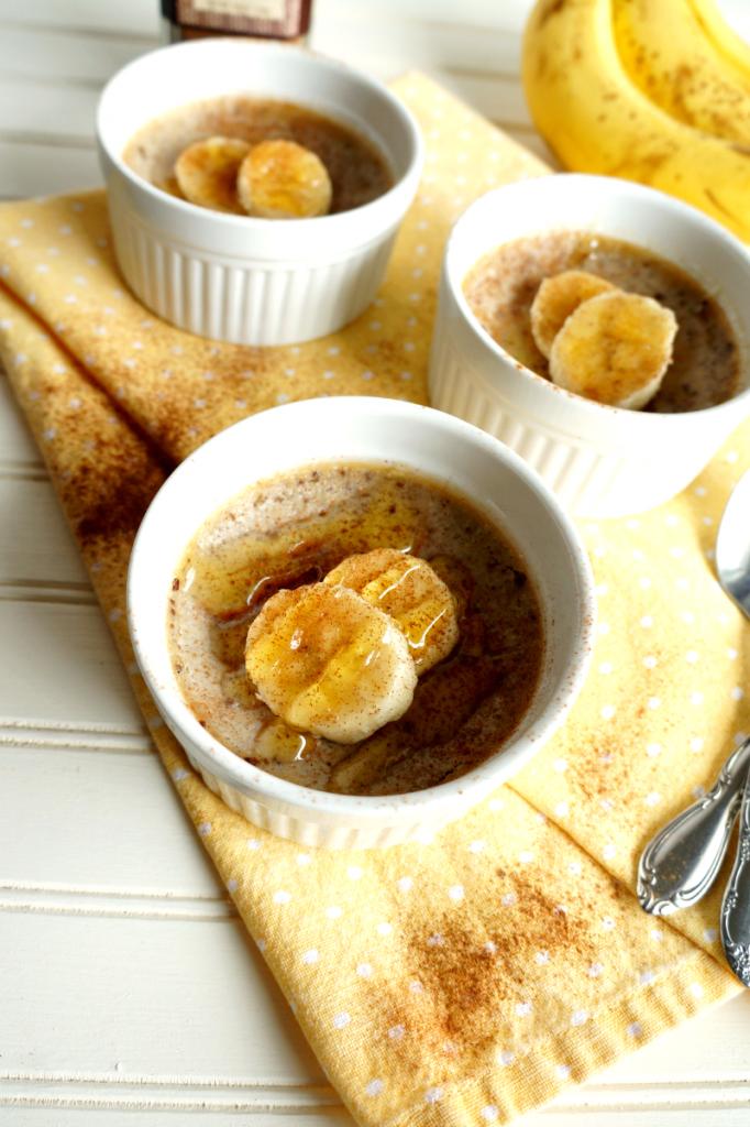 3-ingredient paleo banana custard