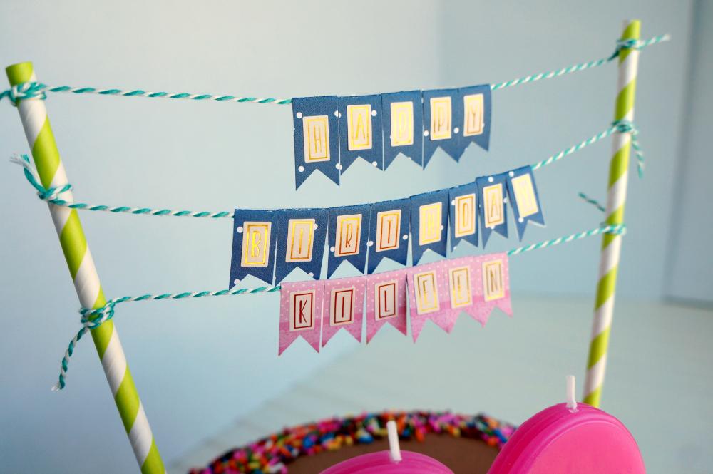 20th birthday chocolate confetti cake | The Baking Fairy