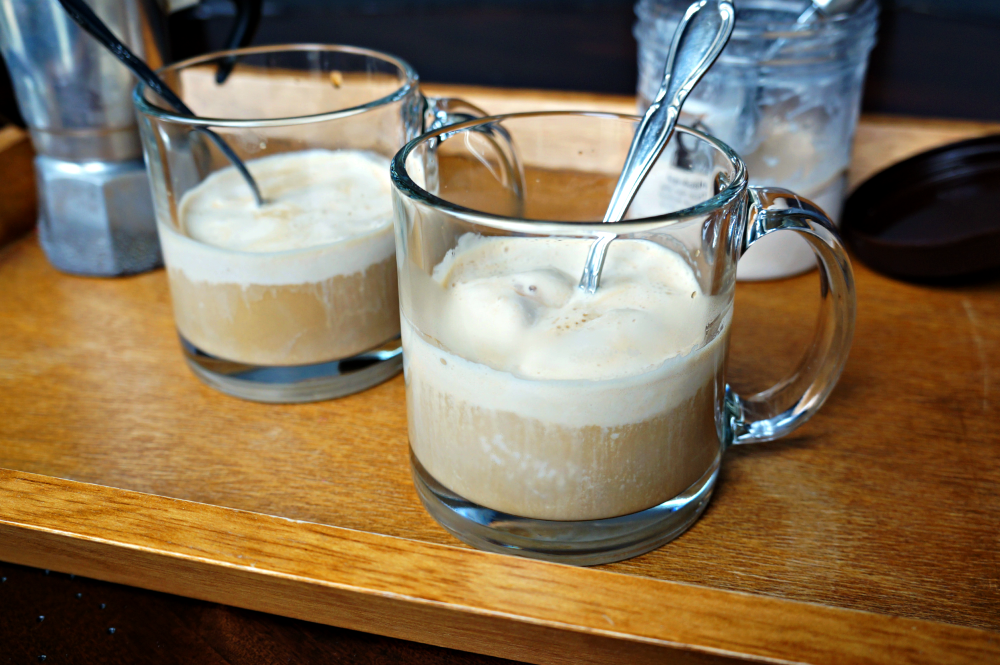 hazelnut affogato | The Baking Fairy