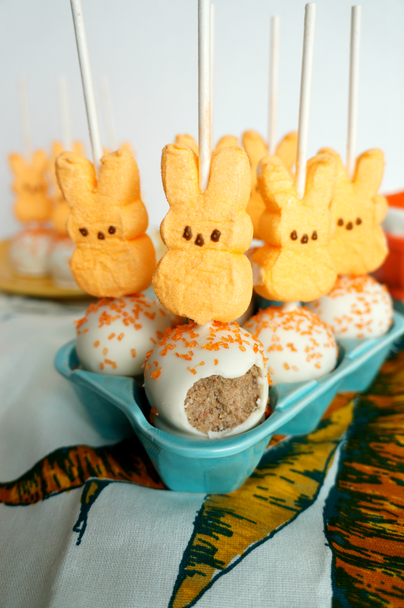 carrot cake pops | The Baking Fairy