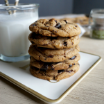 smoked salt & browned butter chocolate chip cookies | The Baking Fairy