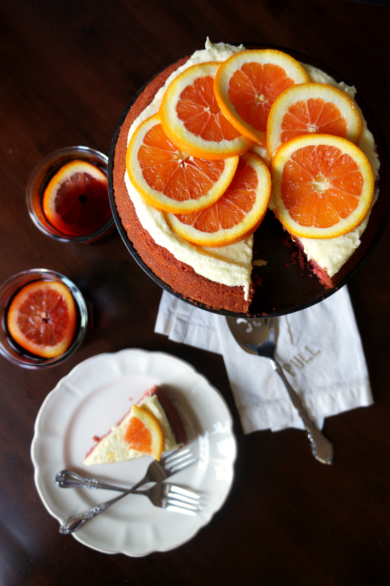 sangria cake | The Baking Fairy