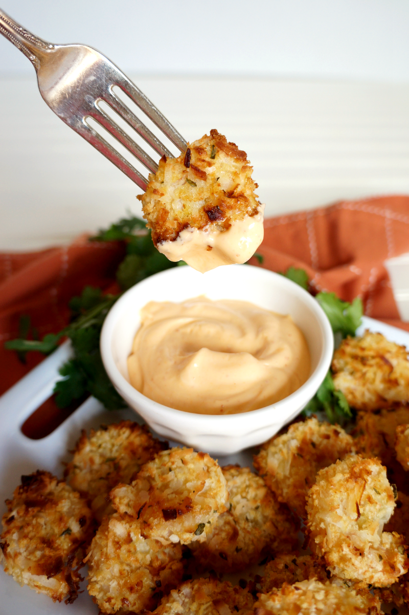baked coconut shrimp | The Baking Fairy