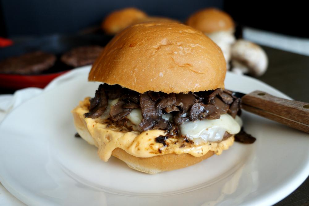 voodoo mushroom burgers | The Baking Fairy