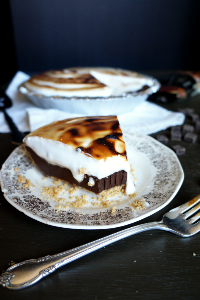 vegan s'mores pie