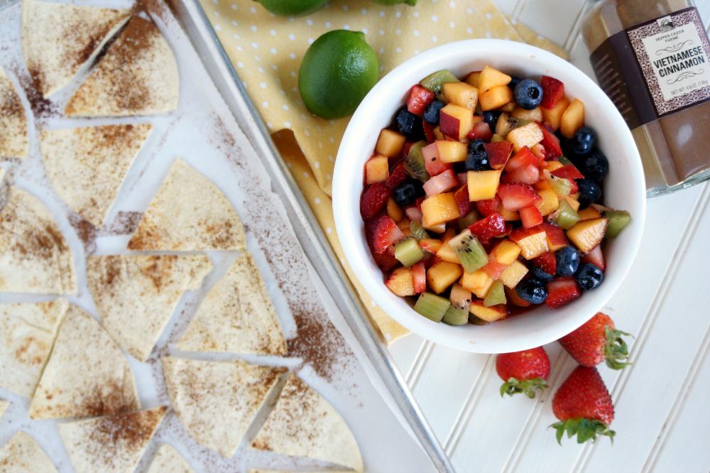 fruit nachos | The Baking Fairy