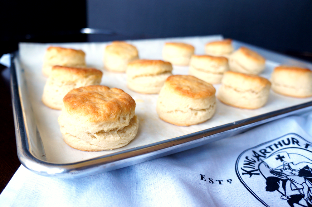 honey biscuits with cinnamon butter | The Baking Fairy