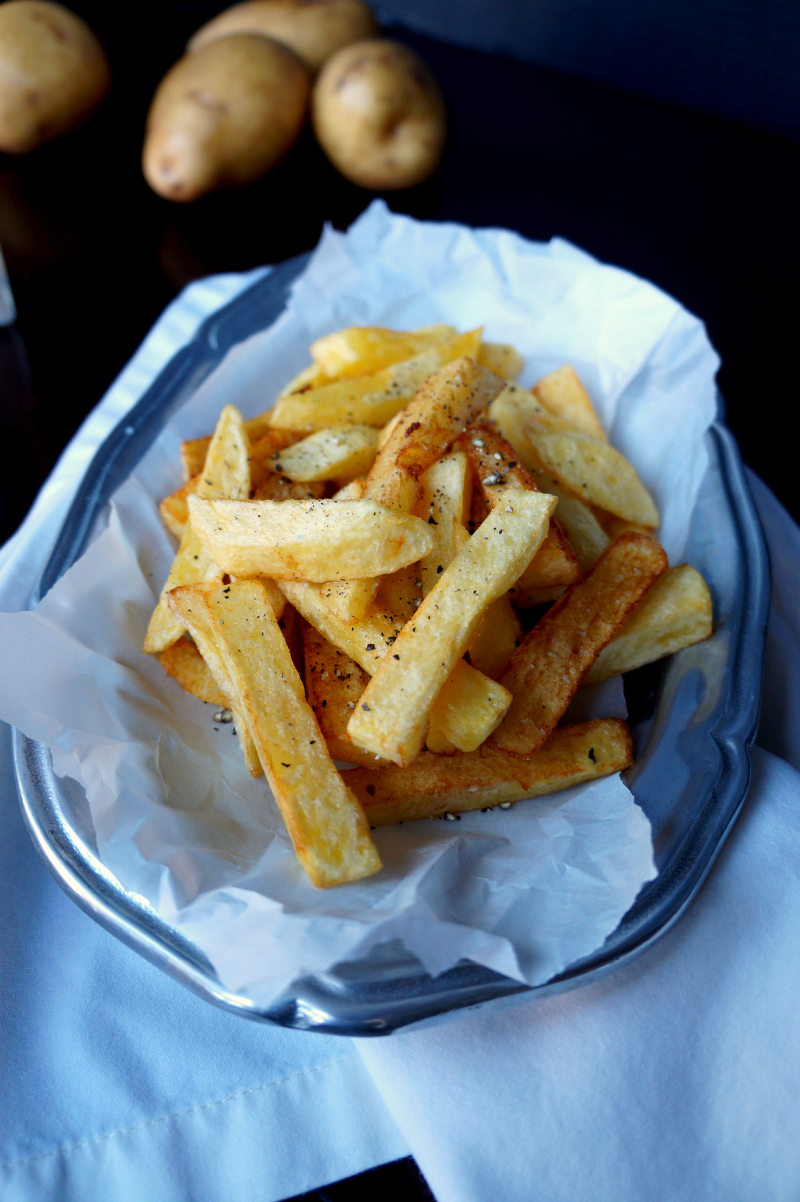 the perfect stovetop french fries | The Baking Fairy