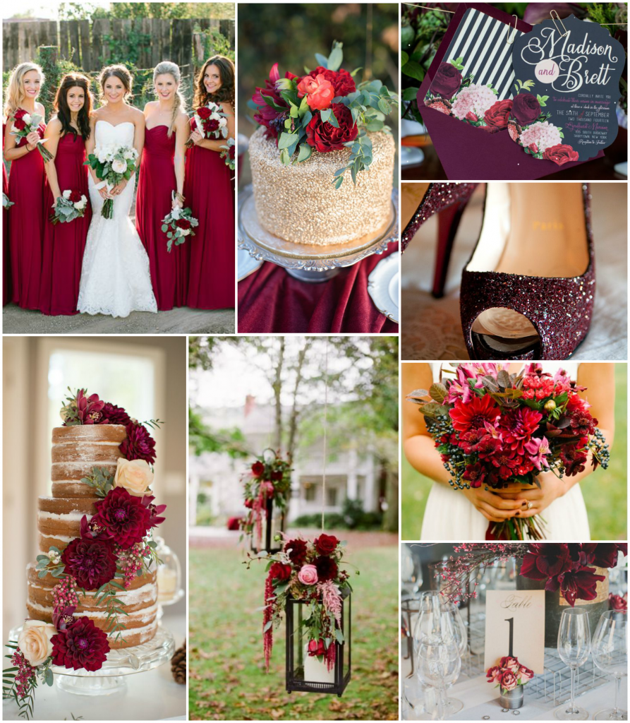 Wedding Themes And Colors: Wedding Pinspiration: Colors