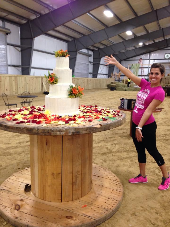 autumnal wedding cake | The Baking Fairy