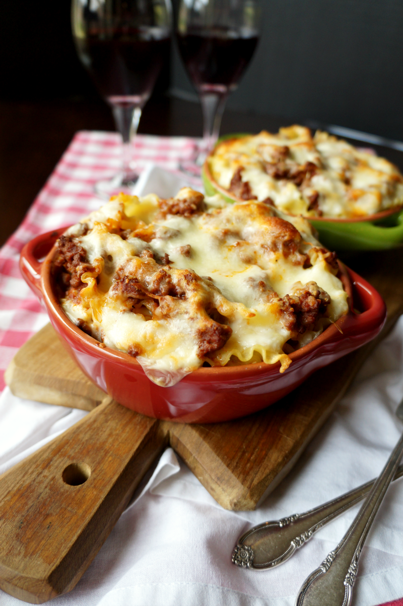 cheesy lasagna pasta bake | The Baking Fairy