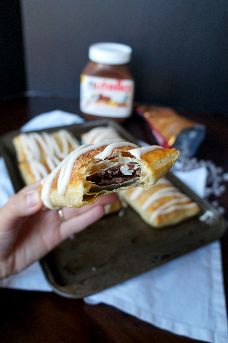 Nutella toaster strudel | The Baking Fairy