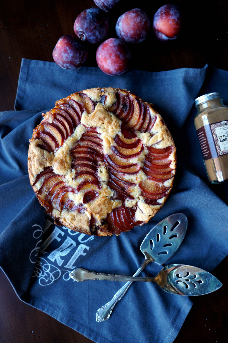 fresh plum cake | The Baking Fairy