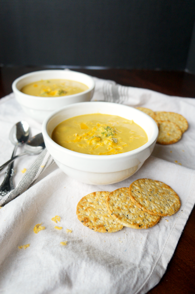 broccoli cheddar soup | The Baking Fairy