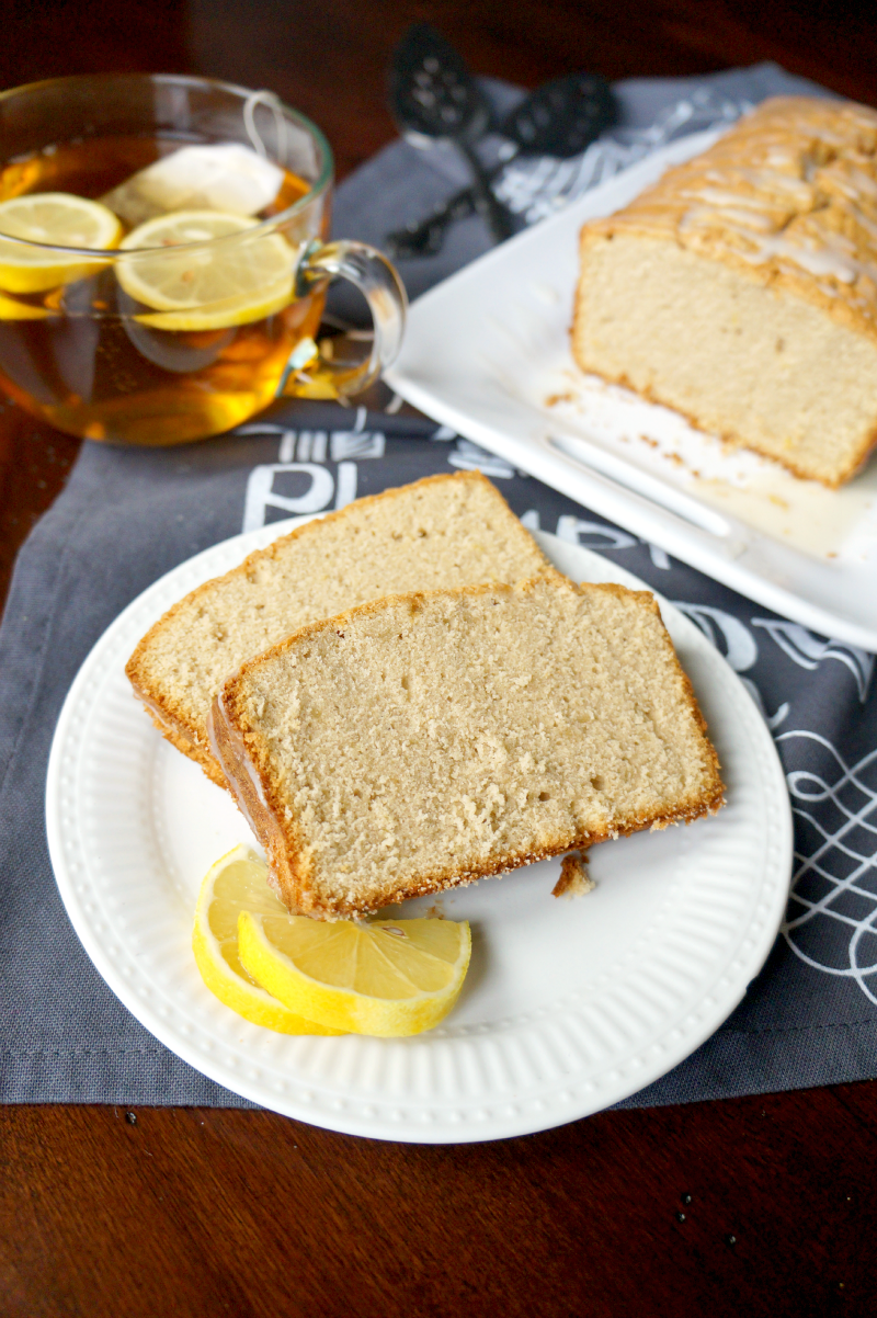 earl grey and lemon loaf | The Baking Fairy