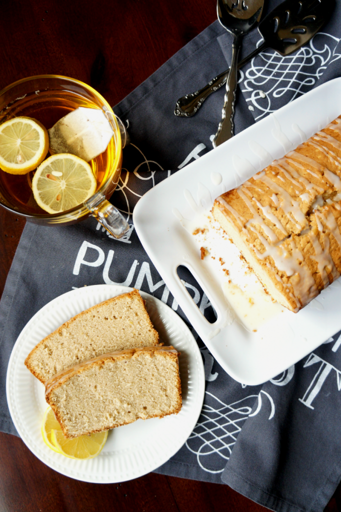 earl grey and lemon loaf