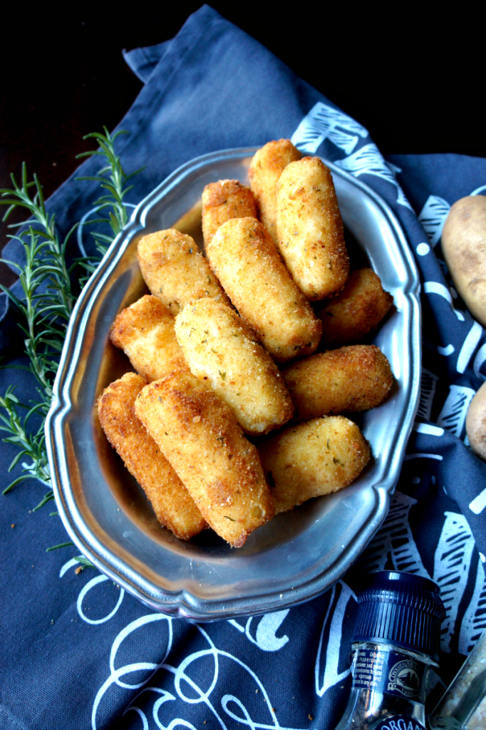 a new holiday tradition: potato croquettes