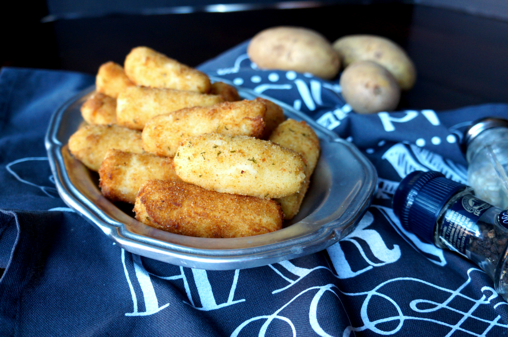potato croquettes | The Baking Fairy