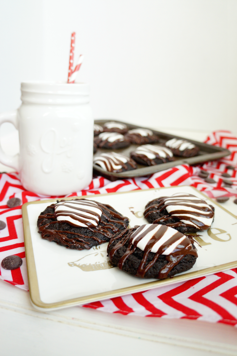 hot cocoa cookies | The Baking Fairy