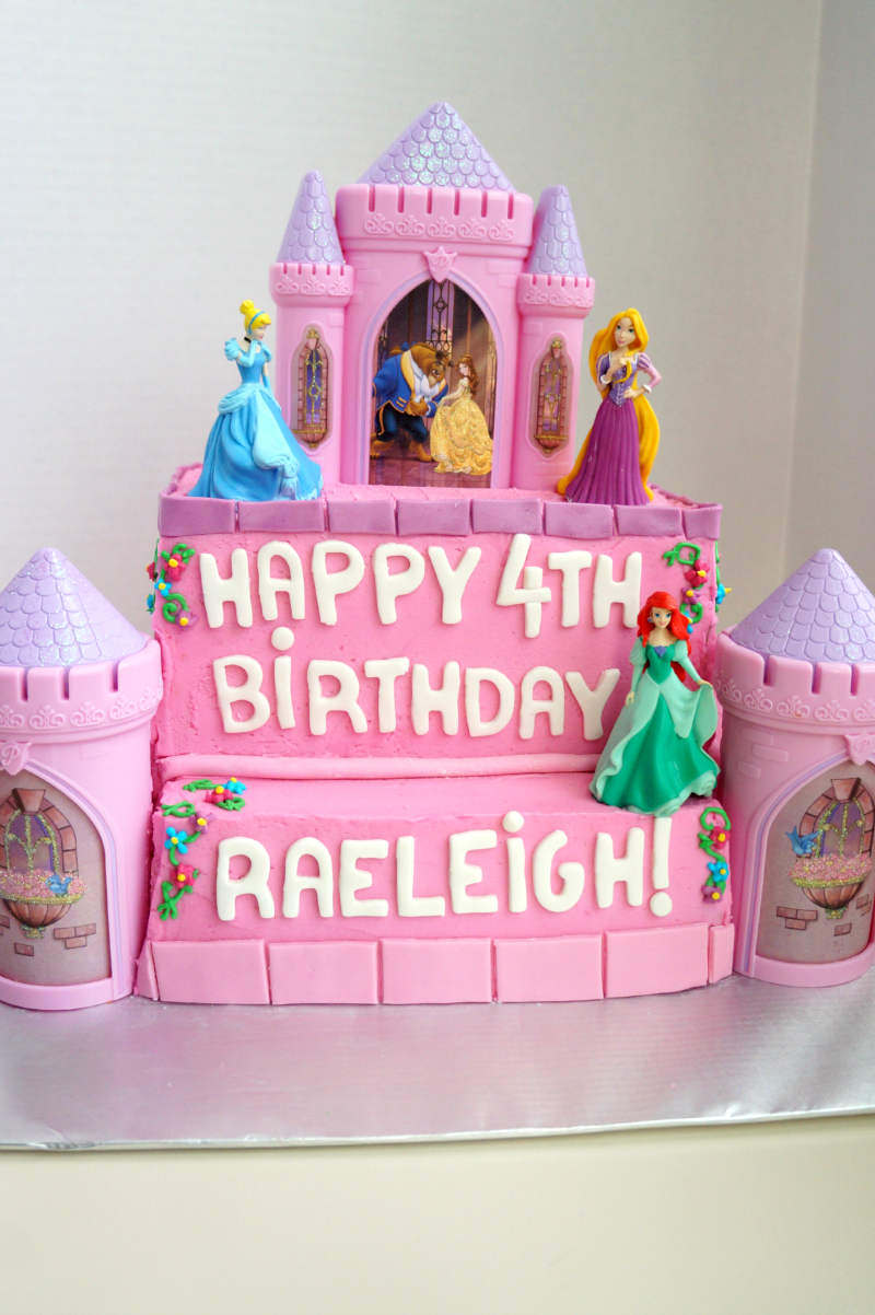 princess castle birthday cake | The Baking Fairy