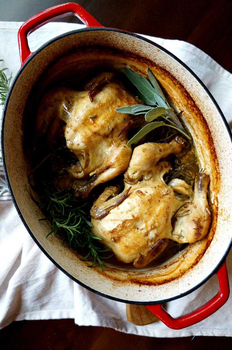 roasted cornish hens in milk (#ad)   The Baking Fairy