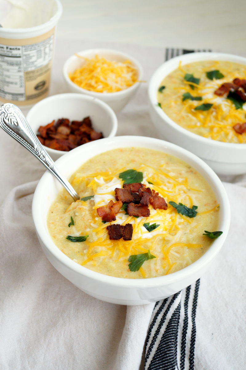 baked potato soup | The Baking Fairy
