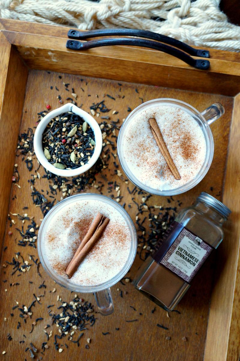 the easiest chai tea latte   The Baking Fairy