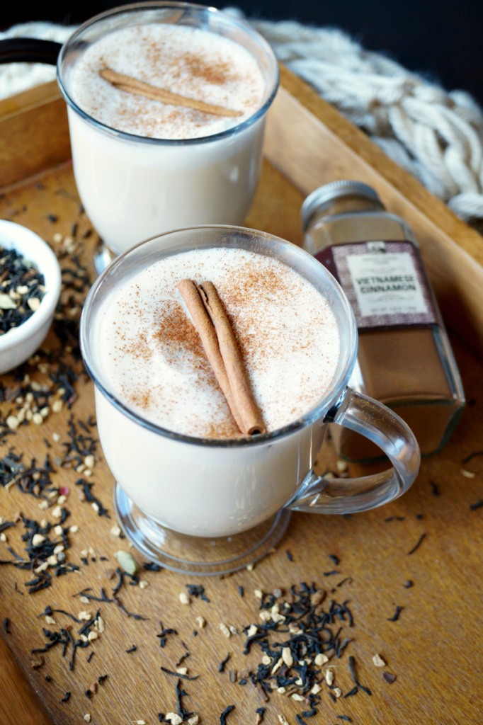 the easiest chai tea latte